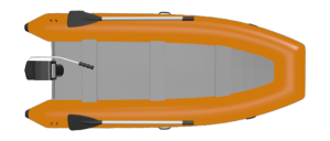 Help boating: Dinghy with outboard engine