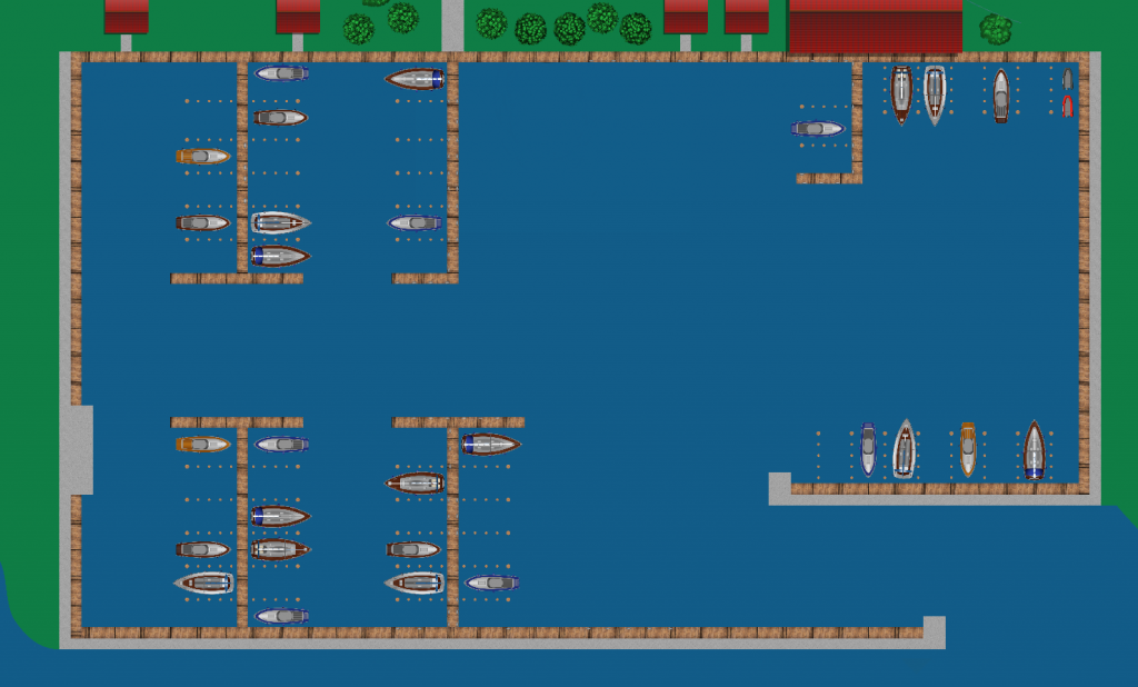 Help Boating: Harbor map of Hafenskipper