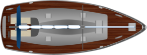 Help boating: Sailing yacht with engine and rudder
